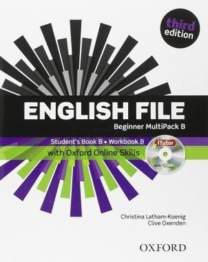 english file beginner multipack b third edition con cd uevo