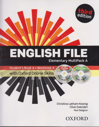 english file elementary multipack a third edition nuevo