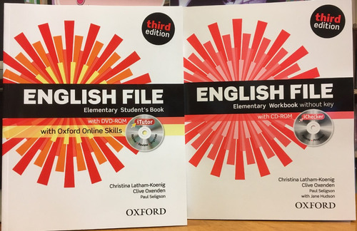 english file elementary - student s book & workbook - oxford