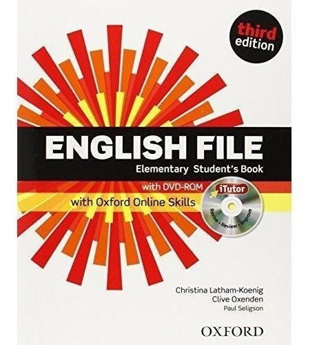 english file elementary student´s book and workbook 3rd ed.