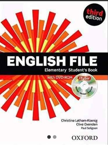 english file elementary student's book third ed impresso