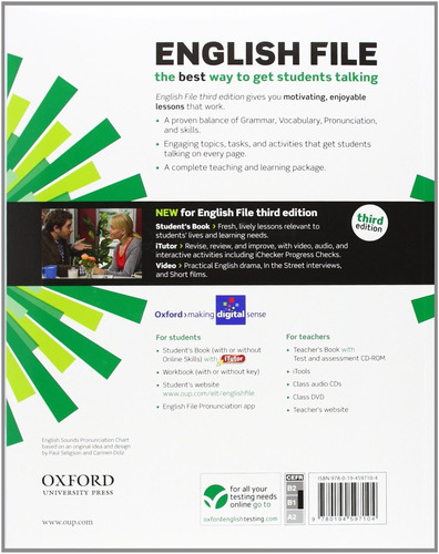 english file intermediate student´s book oxford