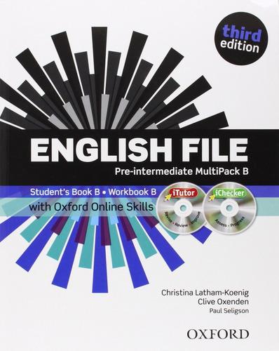 english file pre intermediate multipack b - oxford 3ed