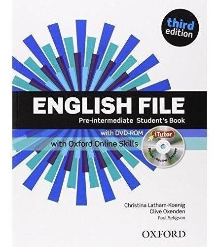 english file pre intermediate student´s book and workbook