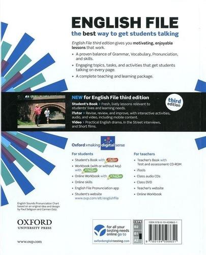 english file - pre intermediate student´s book oxford