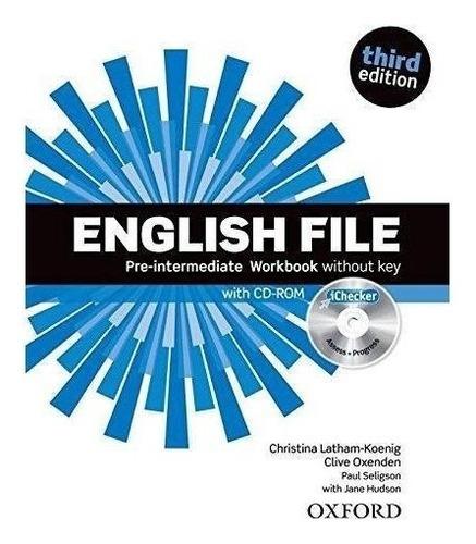 english file pre intermediate workbook 3rd ed. - oxford