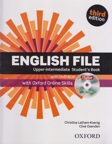 english file upper intermediate student's book third edition