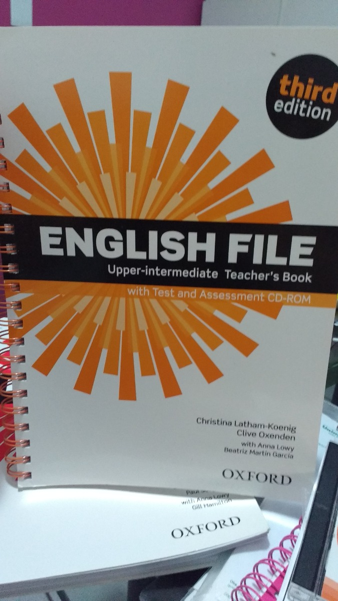 Oxford New English File Upper Intermediate Teacher Book