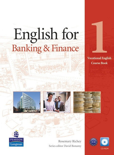 english for banking & finance 1 with cd rom - pearson