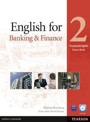 english for banking & finance 2 with cd rom - pearson