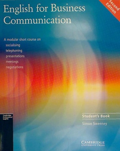 english for business communication. student's book(libro )