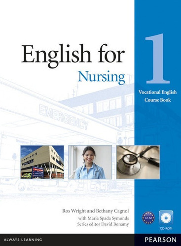 english for nursing 1 with cd rom - pearson - rincon 9