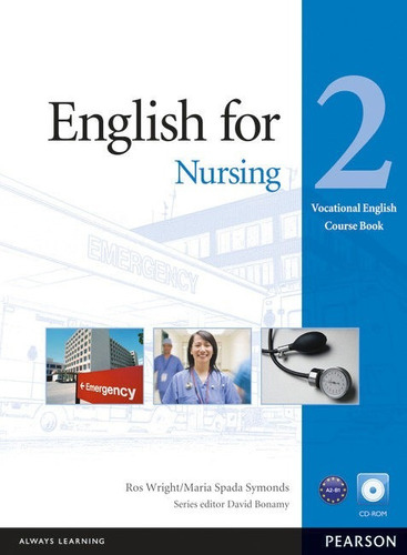 english for nursing 2 with cd rom - pearson - rincon 9