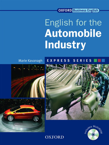 english for the automobile industry includes multirom oxford