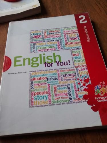 english for you! 2 secundaria - santillana