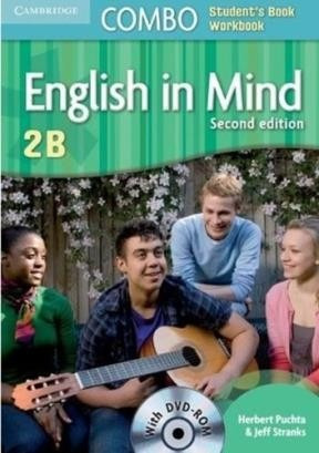 english in mind 2 b book 2nd edition w/cd-rom - cambridge