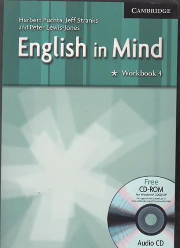 english in mind student´s book 4 workbook 4 com cd b9
