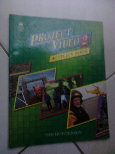 english project video 2 activity book