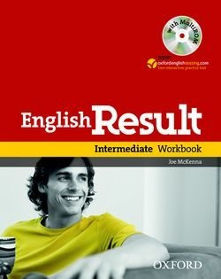 english result intermediate - workbook with key/cd - oxford