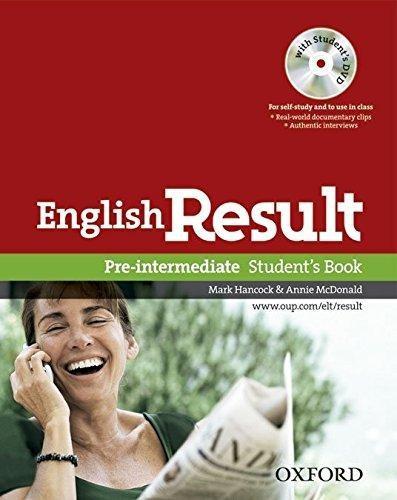 english result pre intermediate - student s book - oxford