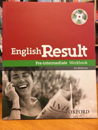 english result - pre intermediate - workbook - oxford