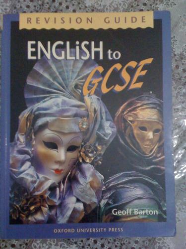 english to gcse - barton - oxford