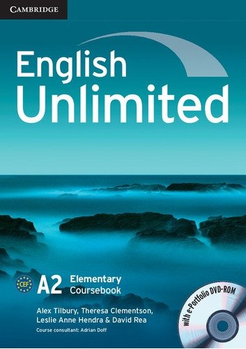 english unlimited a2 elementary - coursebook cambridge