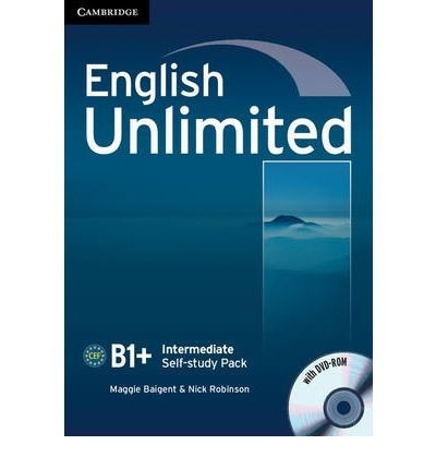 english unlimited b1+ intermediate - workbook cambridge