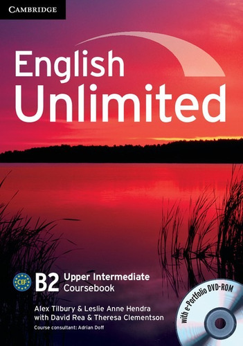 english unlimited b2 upper interm - coursebook cambridge