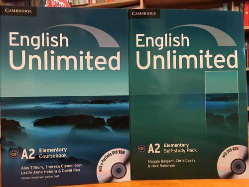 english unlimited elementary - coursebook & self study