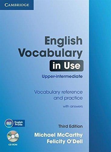 english voc. in use upp.int.with/key 3rd edit. - cambridge