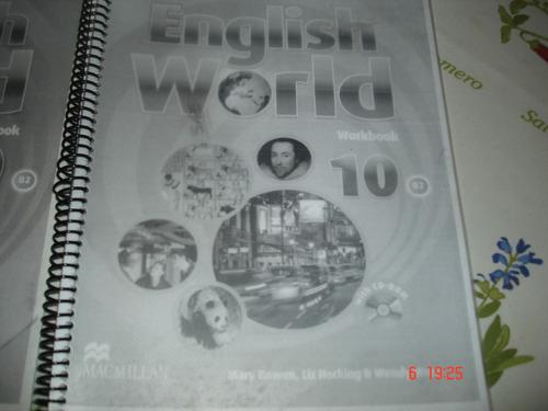 english world 10 student´s y workbook macmillan