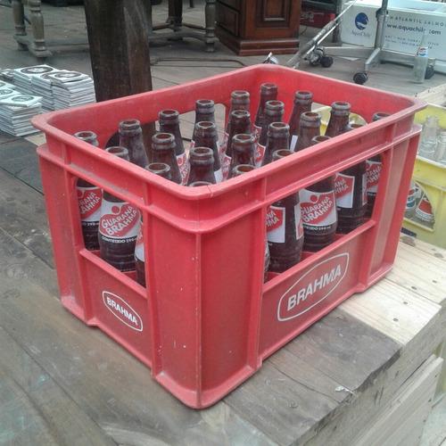 engradado refrigerante guaraná brahma + 24 garrafas 290ml 20
