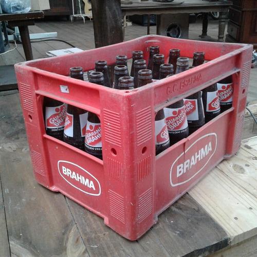 engradado refrigerante guaraná brahma + 24 garrafas 290ml