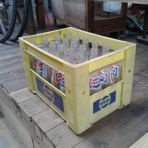 engradado refrigerante pepsi + 24 garrafas 284ml 48
