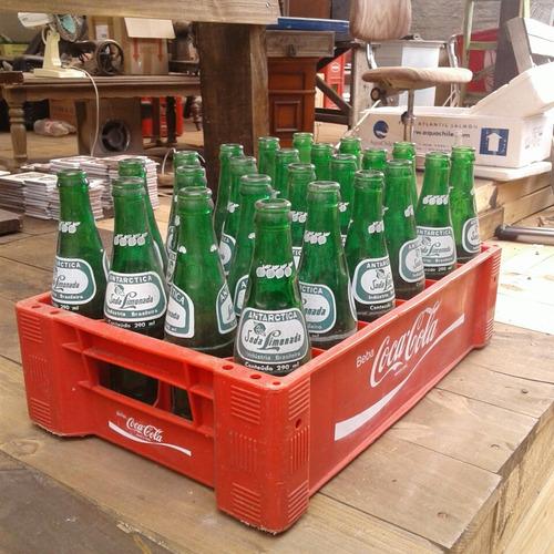 engradado soda limonada antartica + 24 garrafas 290ml 51