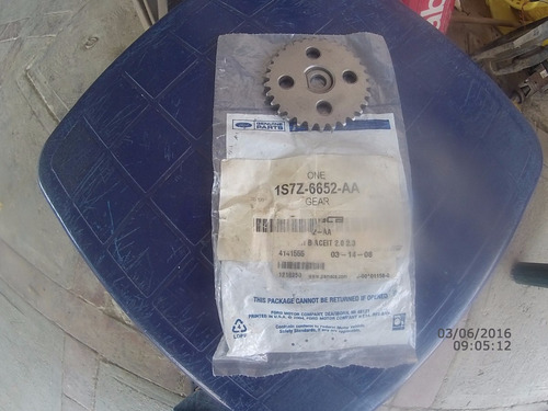 engranaje bomba aceite mazda 3 y 6/ focus/ ecosport/ ranger