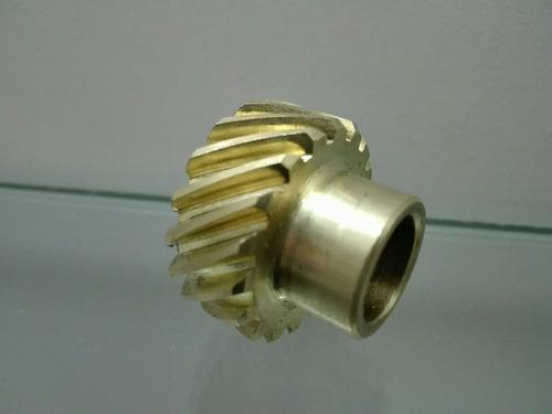 engranaje bronce distribuidor taunus sierra  rmcompeticion