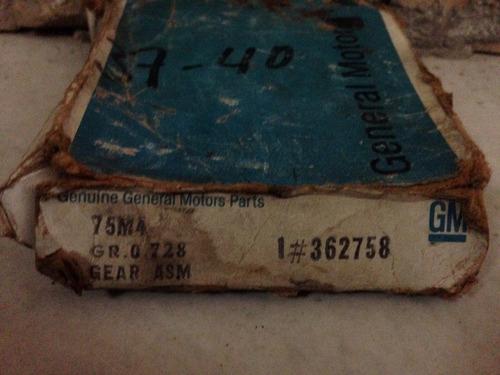 engranaje de caja general motors 1#362758 original