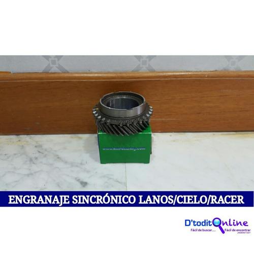 engranaje sincronico de 4ta 34 dientes lanos/cielo/racer