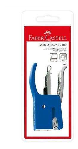 engrapador faber mini alicate (500251/p-102) azul