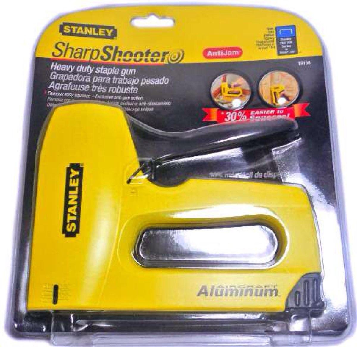 Engrapadora bostitch tr150 sharpshooter en - Grapadora para madera ...