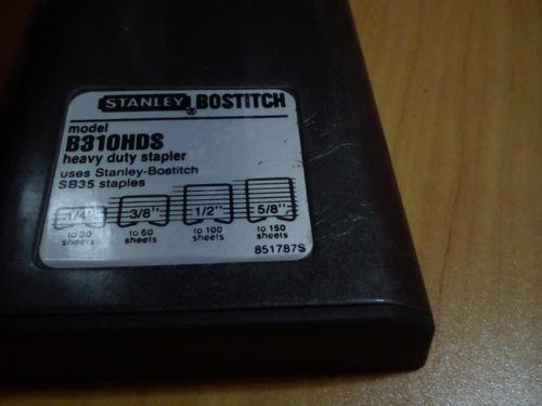 engrapadora comercial,stanley-bostitch,como nueva heavy duty