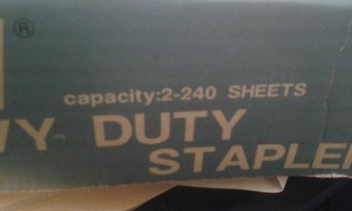 engrapadora swingline heavy duty, como nueva
