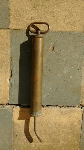 engrasador de cobre antiguo