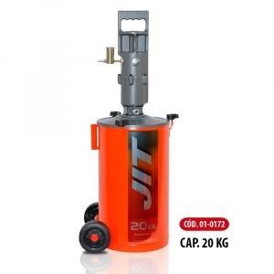 engrasador neumático, caudal continuo,20kg.mang.2mt jit  172