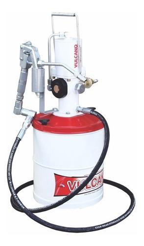 engrasador neumatico vulcano cap. 6kg c/manguera y pistola
