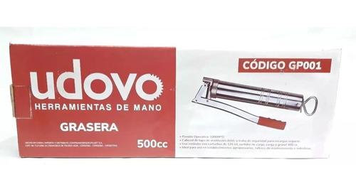 engrasadora grasera manual 1000cc udovo pico rigido/flexible
