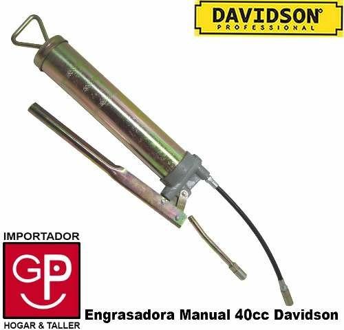 engrasadora manual 400cc davidson