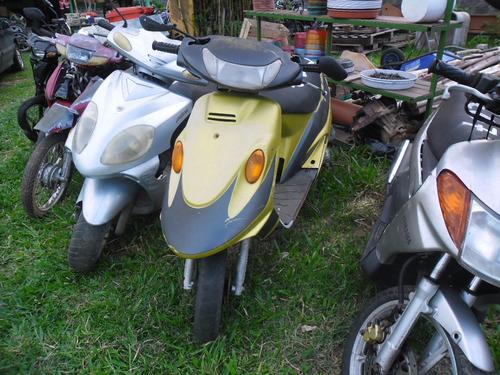 engrenagem c/placa de partida p/ scooter avakymcomanboy/99.